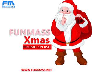 Funmass Xmas Promo Splash
