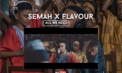 AUDIO + VIDEO: Semah G Weifur x Flavour – All We Need