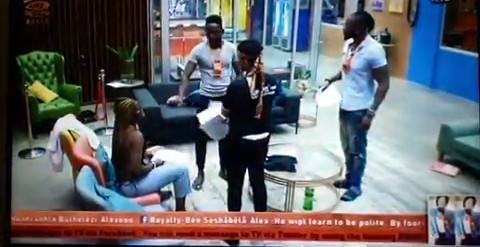 #BBnaija Video: Alex and Teddy A Goes hard On Each Other Before Their Task (Watch Video)