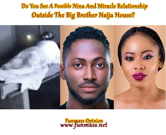 FM OPINION: Do You See A Possible Nina And Miracle Relationship Outside The Big Brother Naija House? [Your View]