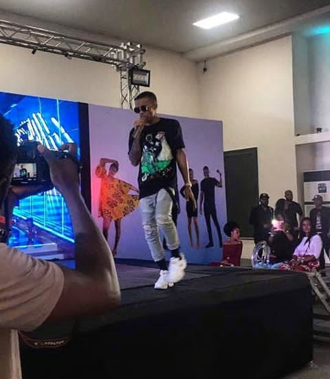#BBnaija: Video, Checkout Tekno Performance In Lagos Viewing Center At The Big Brother Naija 2018 Final Eviction Show (Watch Video)