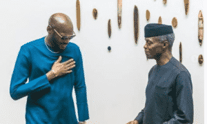 E-news: 2Baba, Mo Abudu & Others Accompany VP, Osinbajo To Hollywood