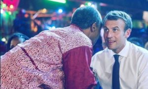 E-news: What I Discussed With President Macron – Femi Ku