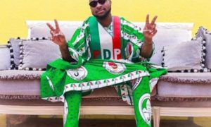 E-news: Davido Causes 'Commotion' At PDP's Mega Rally With Chioma, Assurance || Watch