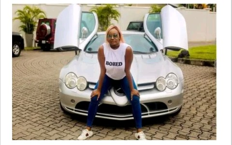 E-news: Billionaire's Daughter – DJ Cuppy Caught Posting With Borrowed Benz (See Owners Reaction)